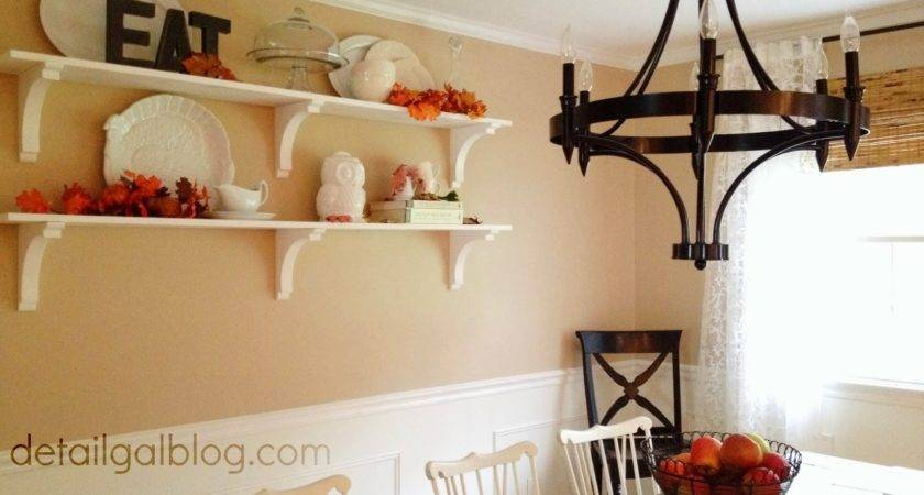 Detailgal Diy Shelves Dining Room