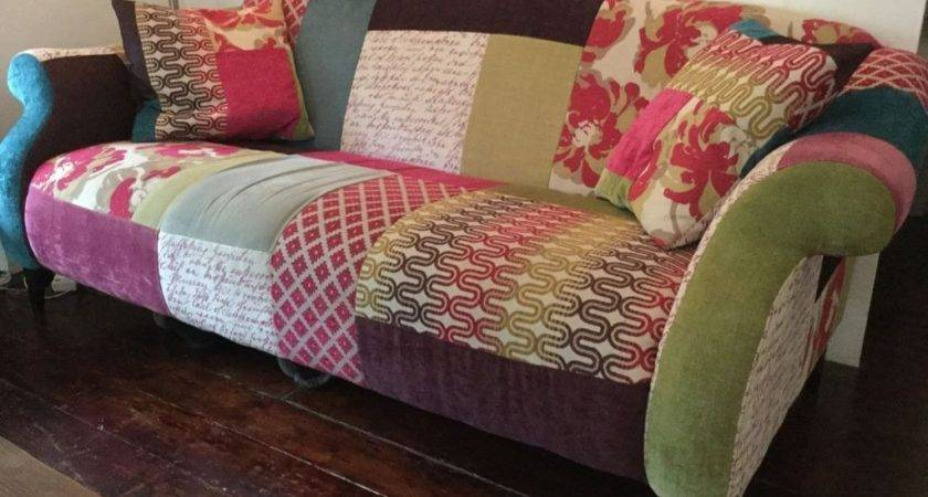 Dfs Patchwork Sofa Shout Collection Maxi Armchair Foot