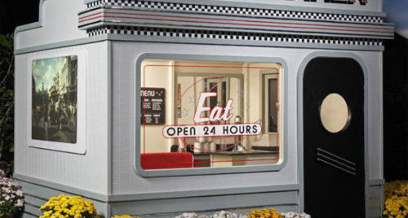 Diner Inspired Playhouses Novelty Playhouse