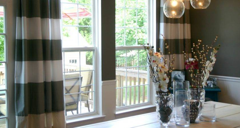 Dining Room Curtains Create New Atmosphere Perfect