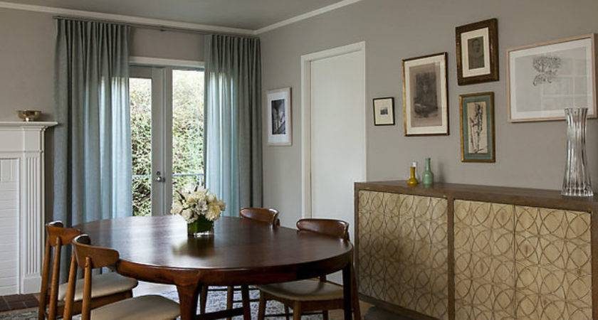 Dining Room Curtains Eclectic San Francisco