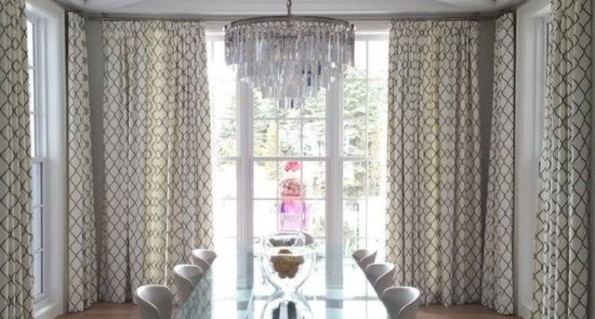 Dining Room Curtains Role Interior Decoration