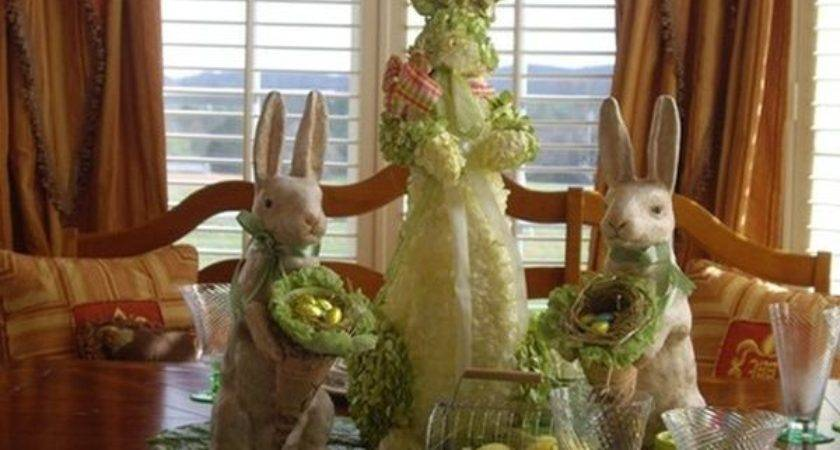 Dining Room Decorations Suitable Easter
