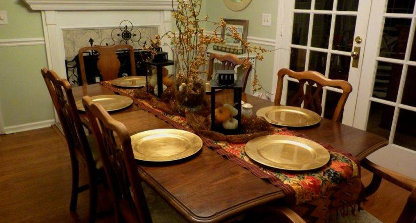 Dining Room Outstanding Table Arrangement Ideas