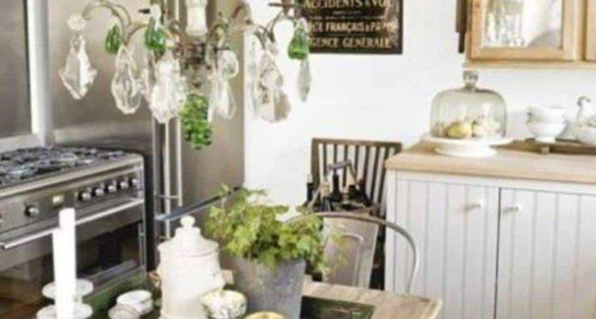 Dining Room Rustic Shabby Chic Kitchen