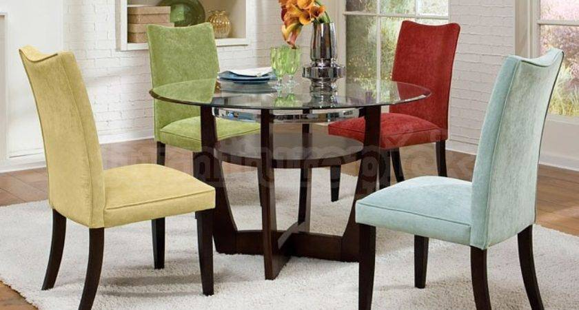 Dining Room Sets Colored Chairs Marceladick