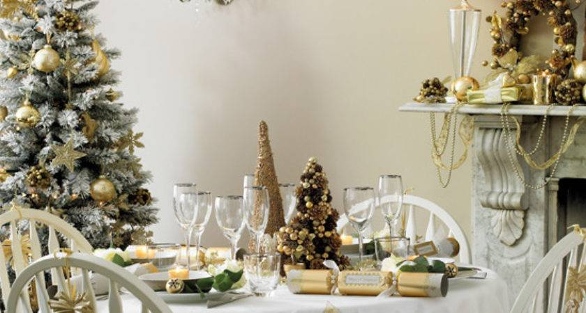 Dining Table Decorating Ideas Christmas