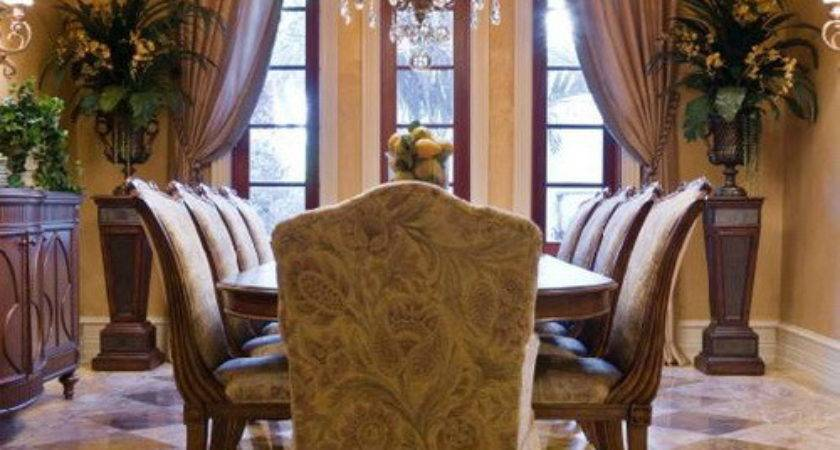 Dining Table Formal Decorating Ideas