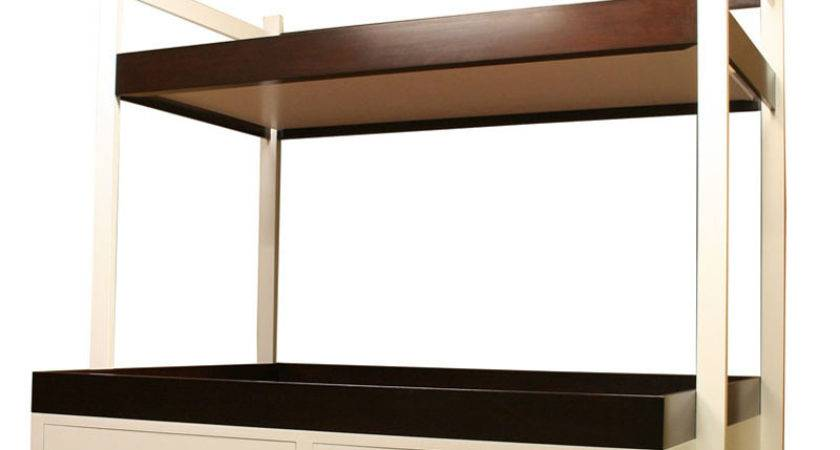 District Modern Twin Over Bunk Bed Beds