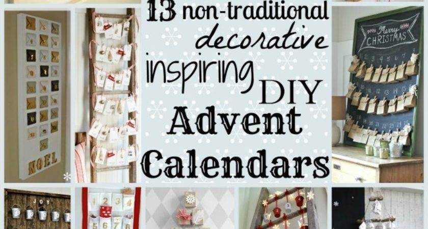 Diy Advent Calendars Non Traditional