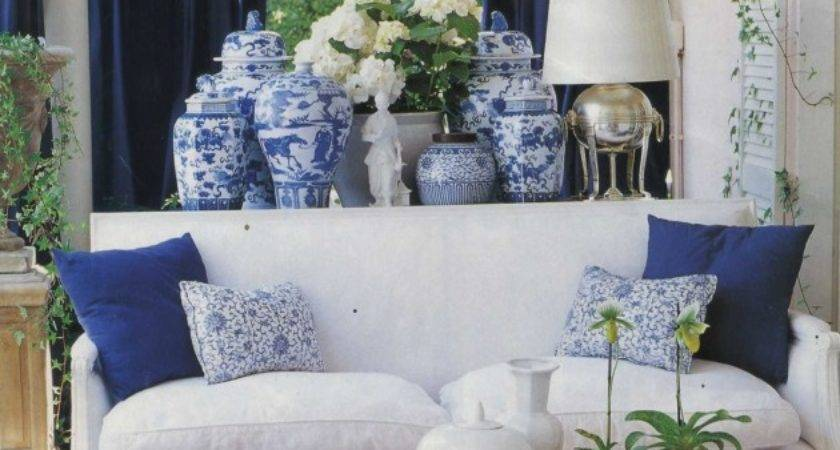 Diy Design Interiors Classic Blue White Porcelain