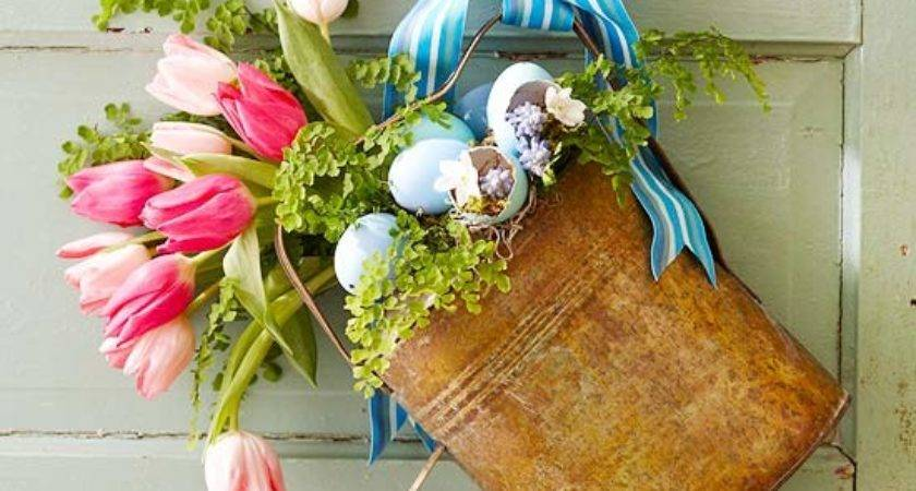 Diy Easter Decorations Craftily Ever After