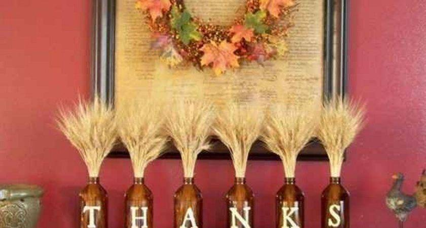 Diy Easy Thanksgiving Crafts Projects Adults