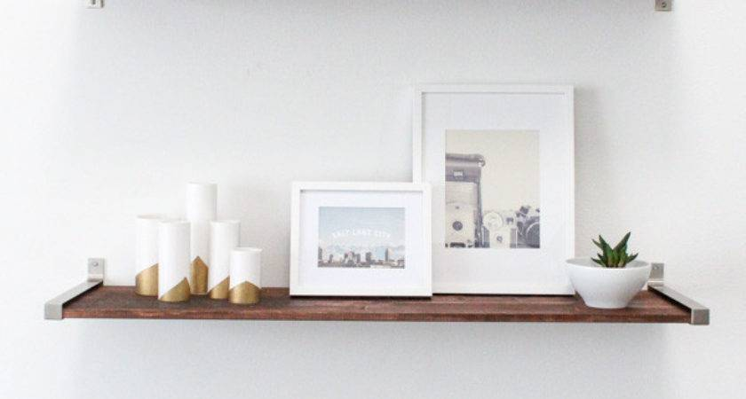 Diy Ikea Hack Distressed Wooden Shelves Elevate Your Home