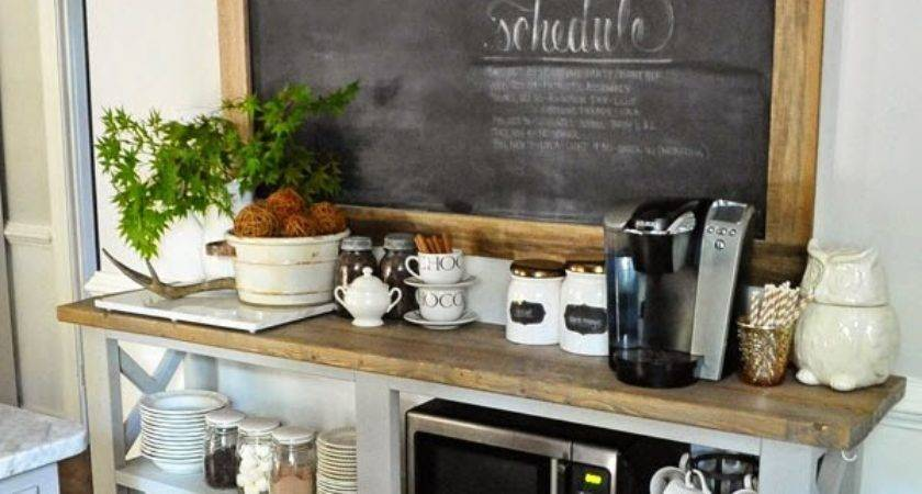 Diy Kitchen Coffee Stations Wait Til Your Father Gets Home
