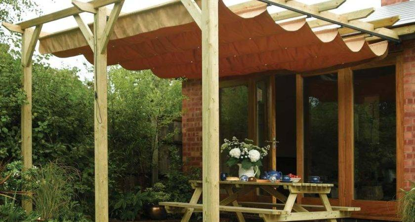 Diy Retractable Pergola Roof Design Ideas