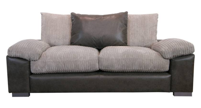 Doll Grey Black Seater Sofa