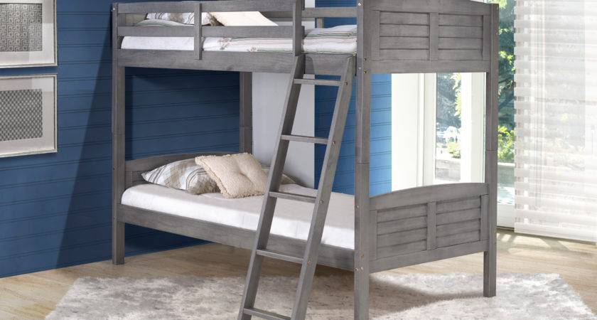 Donco Kids Tree House Twin Bunk Bed Reviews Wayfair