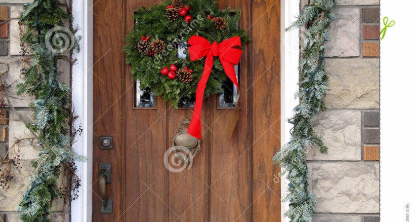 Door Christmas Decorations Letter Recommendation