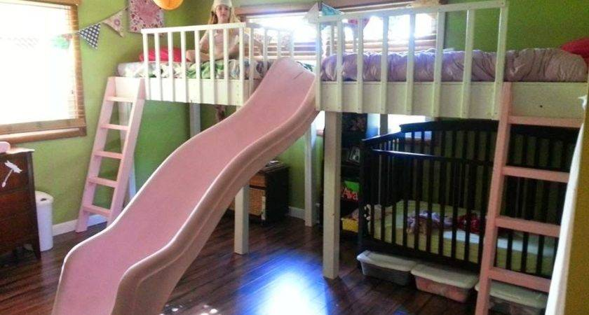 Double Loft Bed Kids Awesome Best