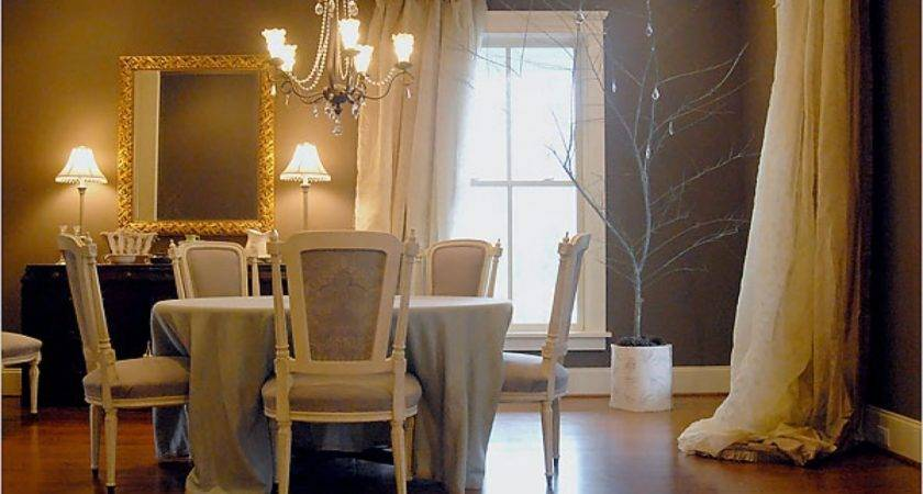 Drapes Kitchen Dining Room Ideas Taupe