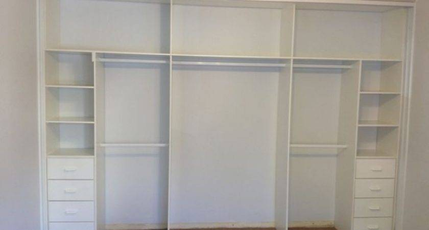 Drawers Built Wardrobes Wardrobe White