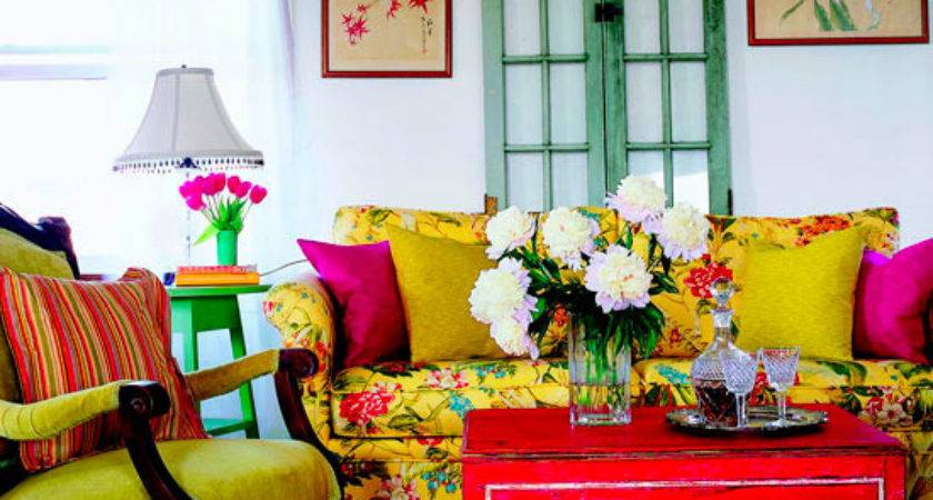 Dream Interior Design Ideas Colorful Living Rooms