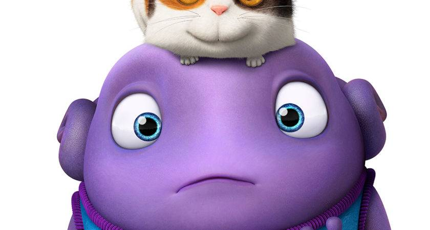 Dreamworks Home Nothing Phone Movie