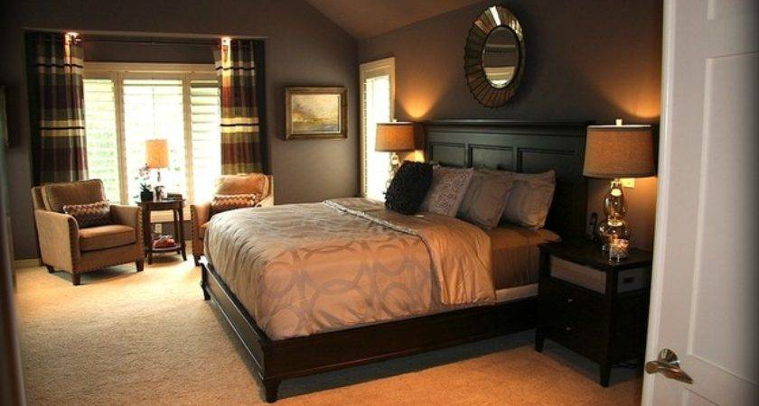 Dreamy Purple Master Bedroom Suite Traditional