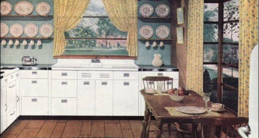 Early American Kitchen Kitchens Mid Century
