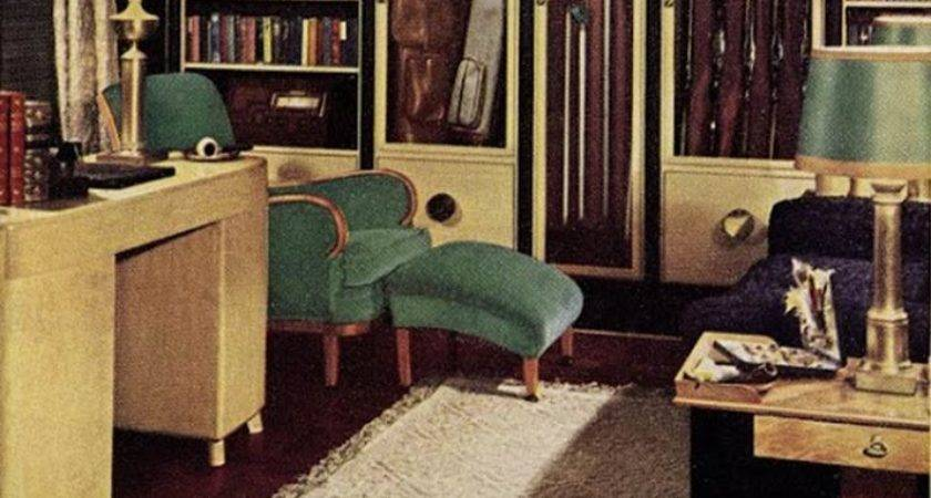 Early Interior Designs Hazel Del Brown