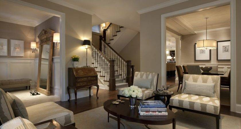 Earth Tone Exterior House Colors Living Room Traditional