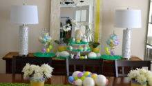 Easter Decor Traditional Dining Room Louis