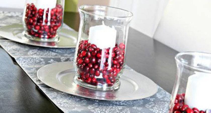 Easy Make Christmas Table Centerpieces All