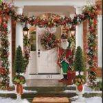 Easy Outdoor Christmas Decorating Ideas Pinterest