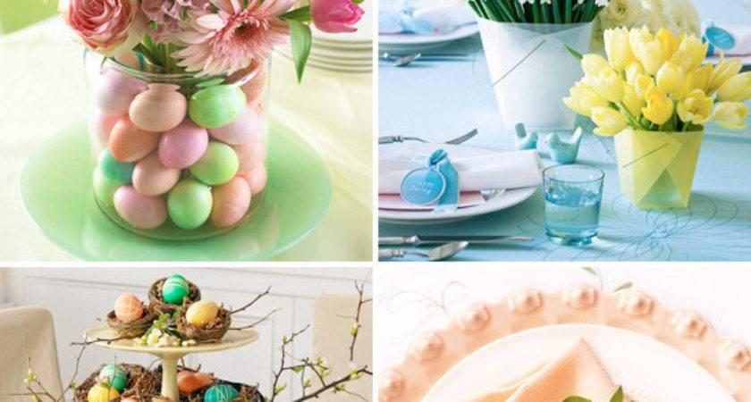 Easy Spring Ideas Table Decorations Perfect