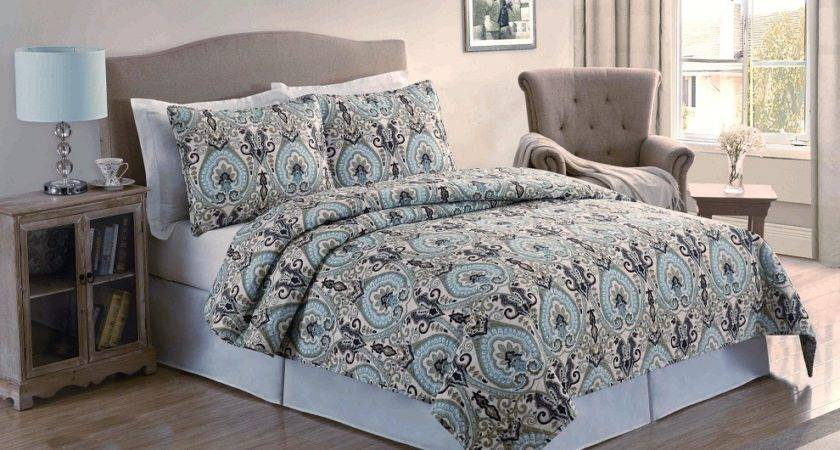 Echo Design Vineyard Paisley Bedding Collection Perfect
