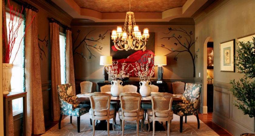 Eclectic Interiors Traditional Dining Room Charlotte