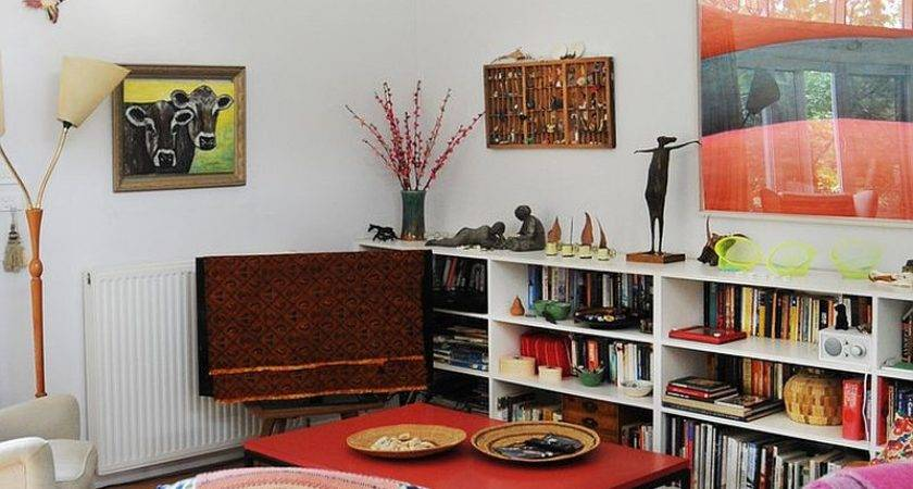 Eclectic Living Rooms Delightfully Creative Home