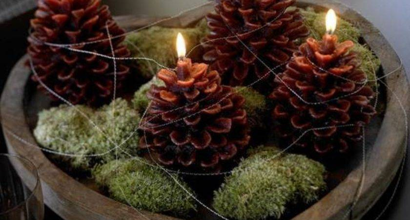 Eco Friendly Holiday Decorations Made Pine Cones