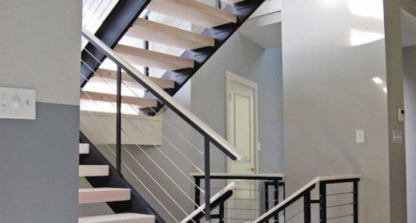 Edgy Cable Railing Ideas Indoors Outdoors