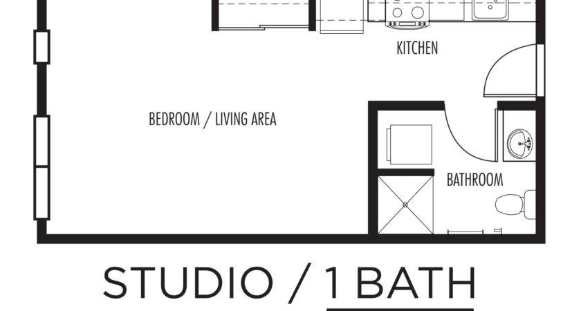 Efficiency Apartment Floor Plans Mibhouse