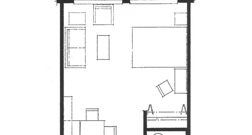 Efficiency Apartment Layout Decobizz