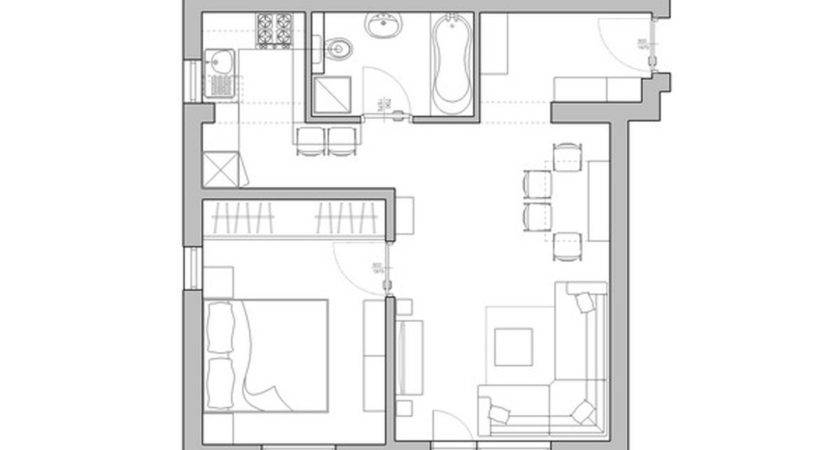 Efficiency Apartment Plan Best Studio Design Layouts
