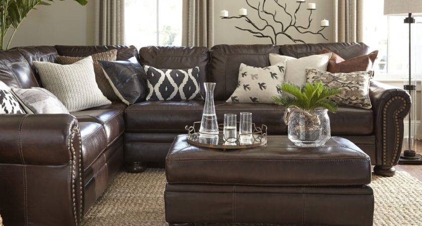 Elegant Brown Couch Blue Rug Innovative Rugs Design