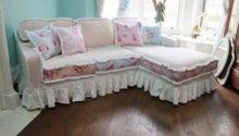 Elegant Cheap Shabby Chic Sofa Slip Covers Loveseat