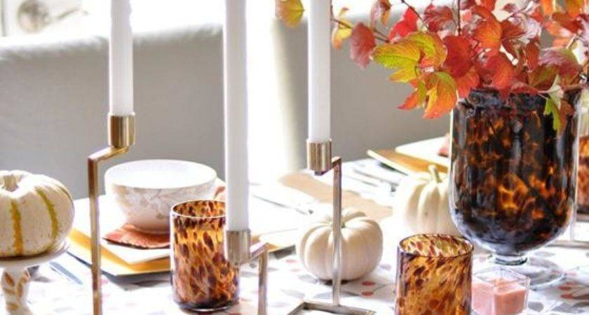Elegant Dining Table Centerpieces Fall Themed