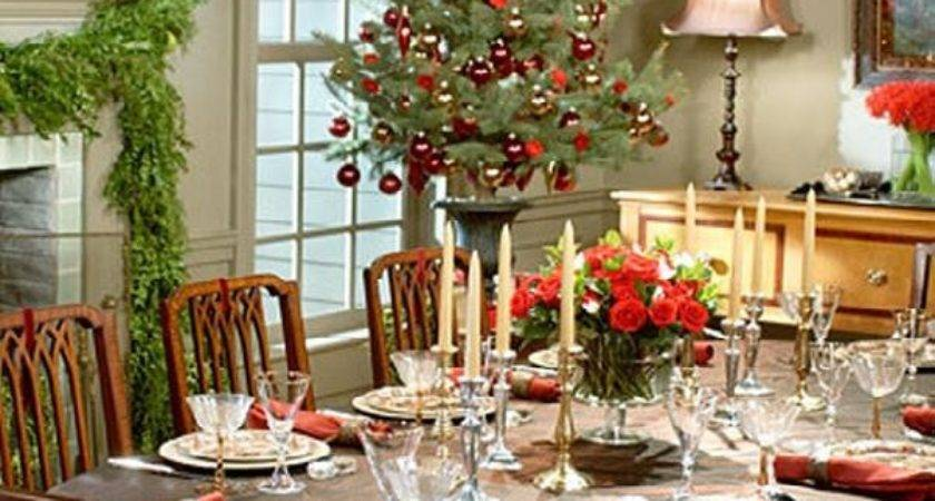 Elegant Party Table Decorating Ideas Photograph Christmas