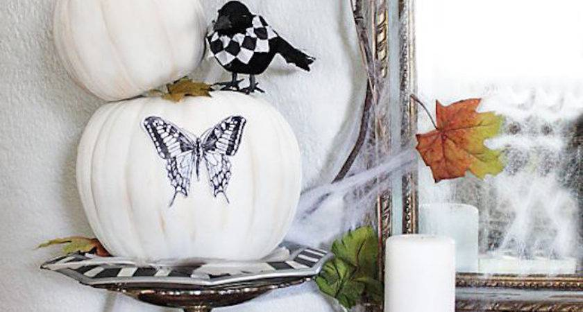 Elegant White Halloween Decor Ideas Interior God