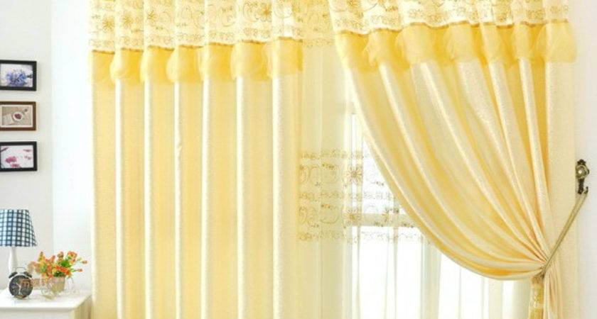 Embroidered Curtains Contemporary Home Decor Drapery